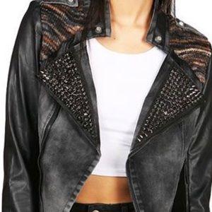 Double Zero studded jacket